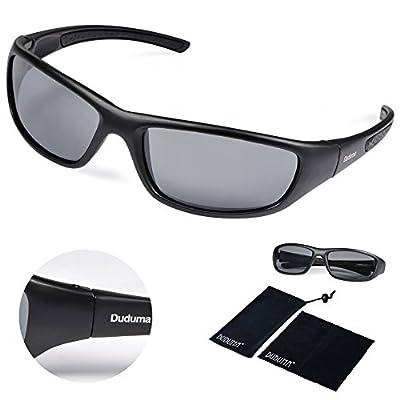 Duduma Tr8116 Polarized Sports Sunglasses for Baseball Cycling Fishing Golf Superlight Frame