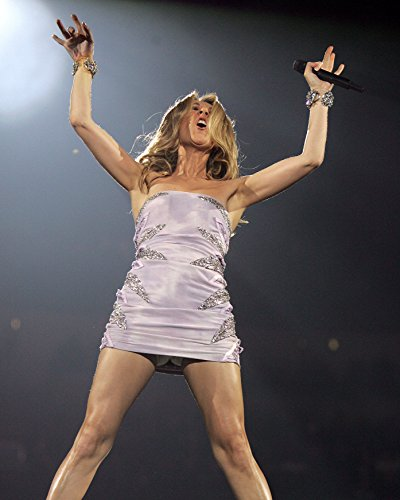 Celine Dion 8 x 10 GLOSSY Photo Picture IMAGE #2