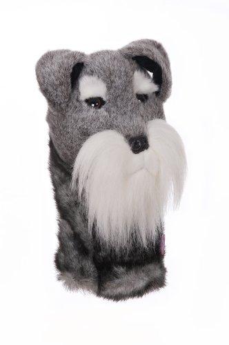Oversized Schnauzer Terrier Golf Head Cover