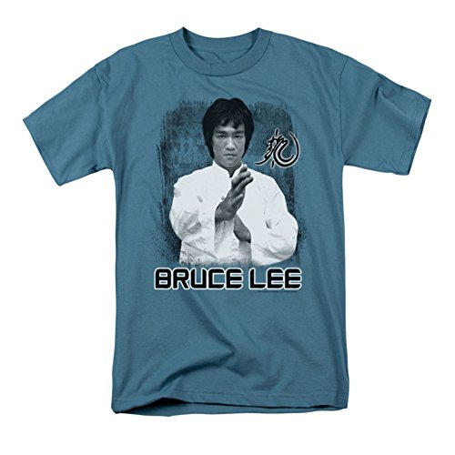Bruce Lee Concentrate T shirt Slate product image