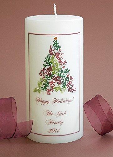 Personalized 3x6 Flourish Tree Christmas (Flourish Christmas Tree)