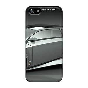 Ultra Slim Fit Hard Mialisabblake Case Cover Specially Made For Iphone 5/5s- Lamborghini Embolado