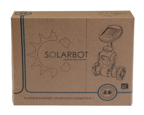 Solarbot - 6 in 1 Construction Kit - Solar PoweROT Robot, Airboat, Helicopter, Plane, Trike or Windmill by The Lagoon Group