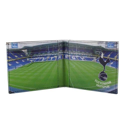 Tottenham Embossed Stadium Panoramic Hotspur FC Leather Hotspur Stadium Panoramic Wallet FC Tottenham d1zqwInp