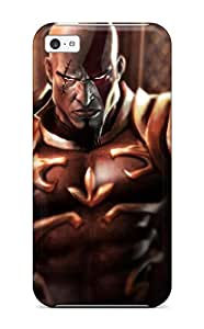 Sophie Dweck's Shop New Style 7876979K81536534 New Kratos God Of War Protective Iphone 5c Classic Hardshell Case