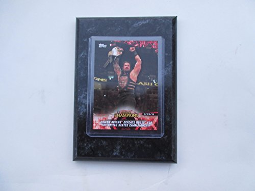 Roman Reighs Clash of Champions 2018 Topps WWE
