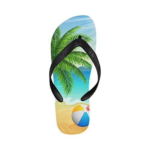 Sandali Da Spiaggia Infradito Con D-story Per Uomo / Donna