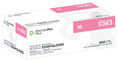 Premier Pro Nitrile Gloves Periwinkle