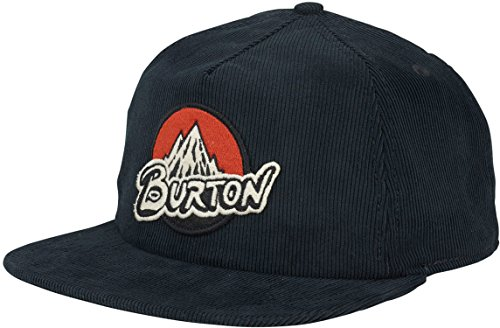 Burton Visor Beanie (Burton Boys Youth Retro Mountain Hat, True Black, One Size)