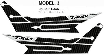 3D Gel Resin Stickers Kit f/ür Boomerang kompatiblen Yamaha Tmax 560 ab 2020