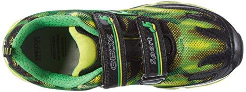 Geox J Android a, Zapatillas para Niños Verde (Green/limec0790)