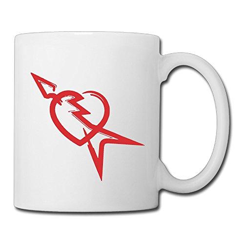 Price comparison product image Christina Tom Petty Logo Ceramic Coffee Mug Tea Cup White