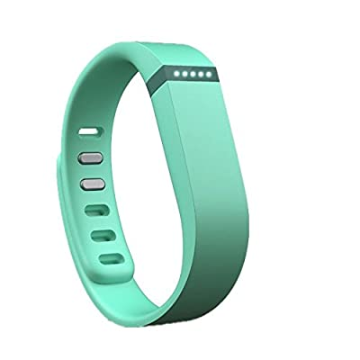 Best_Express Set 1pc Small S Replacement Band with Clasp for Fitbit FLEX Only /No tracker/ Wireless Activity Bracelet Sport Wristband Fit Bit Flex Bracelet Sport Arm Band Armband (Teal)