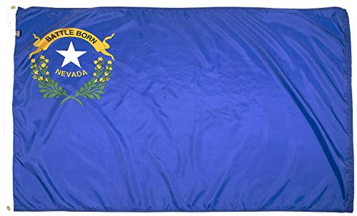 - FlagSource Nevada Nylon State Flag, Made in The USA, 3x5'