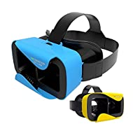 Shinecon 3.0 - Casque VR - Réalité Virtuelle - Jaune