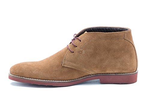 uomo Desert Boots Stivali TapeDorney Red YXITq