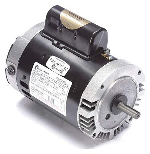 AO Smith/Century Electric PSC, Full Rate, Single-Speed, Switchless, 1HP, 3450RPM, 230/115V, 7.2/14.4 AMPS, 1.4SERVICE Factor, C-Face Flange