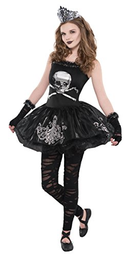Girls Zomberina Ballerina Zombie Costume - Size Large (12-14) - Party City Kid Costumes