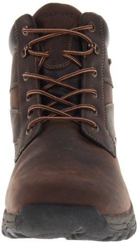 Rockport Heritage Heights Plaintoe K62805, Stivaletti uomo Marrone (Braun (Dark Brown))
