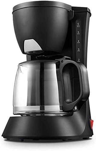 KaiKai Filtro de café de la máquina, 550W Filtro Cafetera One Touch, Goteo Cafetera Conservar el Calor, Anti-Goteo de diseño, 600 ml Filtro Desmontable for el Amante del café: Amazon.es: Hogar