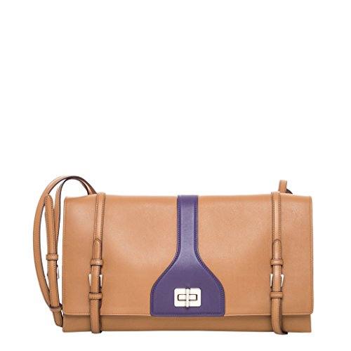 Prada-Womens-Vitello-Soft-Double-Shoulder-Bag-Camel