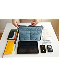 Brilliance Co Storage Bag Organizer Pouch Insert For Handbag, Tablet PC Bag - Blue