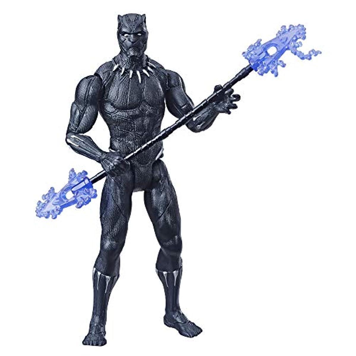 Marvel Avengers Black Panther 15-Cm-Scale Marvel Superhero Action Figure Toy