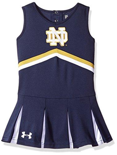 NCAA Girls Cheer Dress, Size 4, Midnight Navy (Little Girl Cheerleaders)