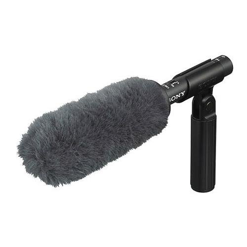 (Sony ECM-VG1 Electret Condenser Short Shotgun Microphone, 40Hz to 20kHz Frequency Response)