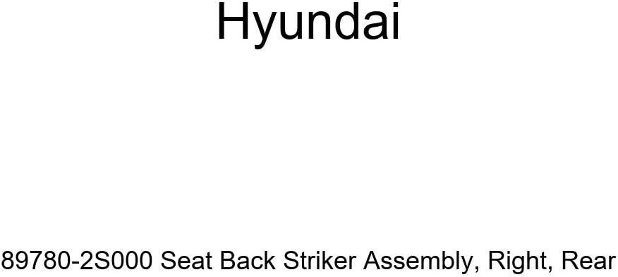 Rear Right Genuine Hyundai 89780-2S000 Seat Back Striker Assembly