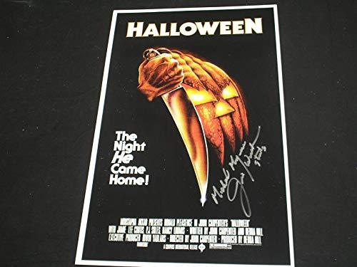 JIM WINBURN Signed Halloween 11x17 Poster Autograph Michael Myers A ()