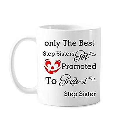 Amazoncom Step Sister Gifts 11 Oz Humour Funny Tea Mug Or Coffee