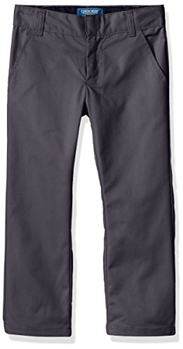 Cherokee Boys Uniform Classic Fit Twill Pant with Adjustable Waist