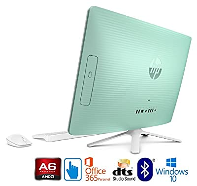 """HP 22-b, AMD A6, 8GB, 21.5"""" Full HD Touchscreen All-in-One with Office 365"""