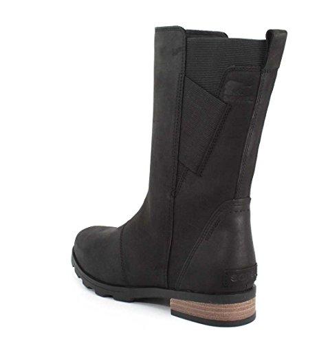 Sorel Damen Emelie Mid Boots Schwarz