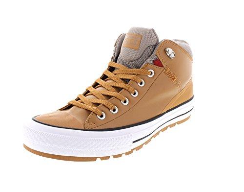 Sugar Round Boots (Converse Unisex Chuck Taylor All Star Street Boot, Raw Sugar/Black, 13)
