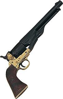 Revólver Denix M1861 Navy Issue Brass Revolver - Réplica sin disparo