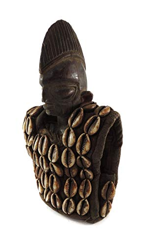 Yoruba Ibeji Figure Cowry Shell Vest Nigeria African for sale  Delivered anywhere in USA
