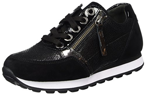 Gabor Ladies Comfort Basic Derbys Nero (nero)