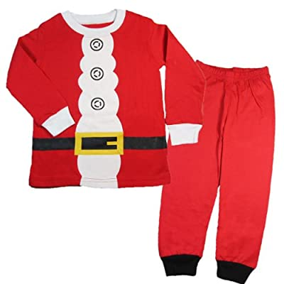 Toddler Kid Boys Girls Christmas pajama T shirt+long pants YSQA7471