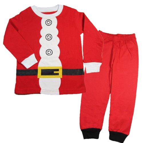 Baby House Toddler Kid Boys Girls Christmas pajama T shirt+long pants YSQA7471 Size T3]()