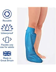 Bloccs Protector de escayola impermeable media pierna para adulto