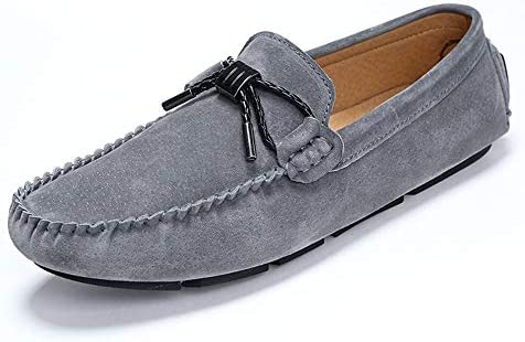 Men/'s Lace up Slip on Sneaker Casual Moccasins Leather Driving Boat Loafer Shoes