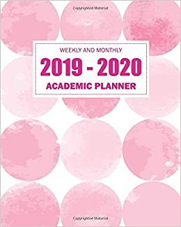 February Book It Calendar 2020 2019 2020 Academic Planner Weekly And Monthly: Weekly calendar