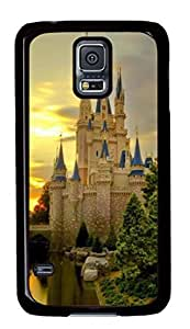 Nature Castle Custom Back Phone Case for Samsung Galaxy S5 PC Material Black -1210286