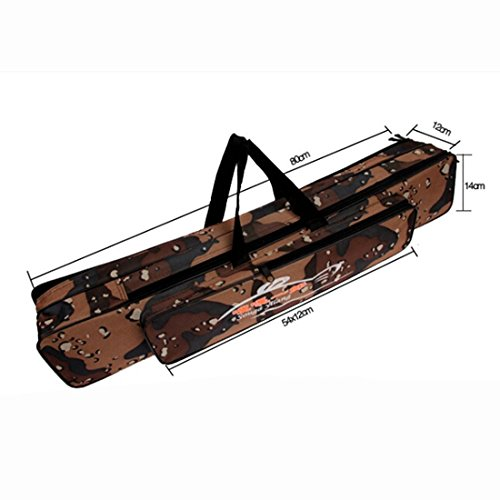 Rod Fishing Bag 3 Layer Case Tackle 80cm - 1