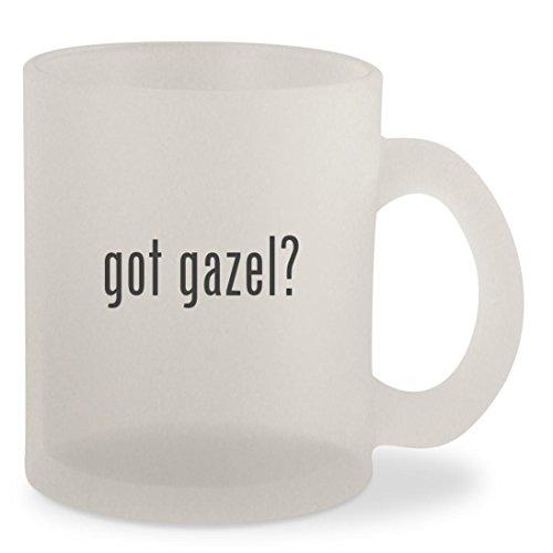 got gazel? - Frosted 10oz Glass Coffee Cup - Glasses Gazel