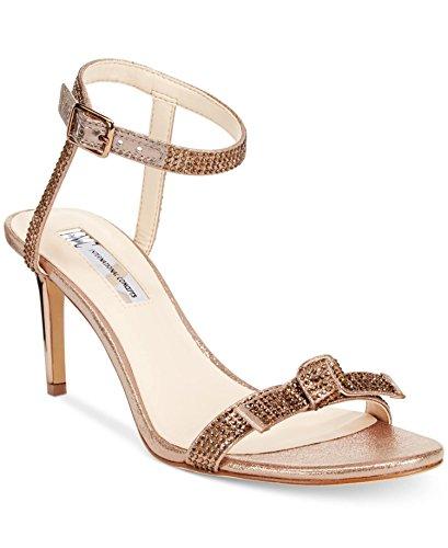 INC International Concepts Womens Laniah Evening Sandals Light Bronze (Bronze Evening Sandals)