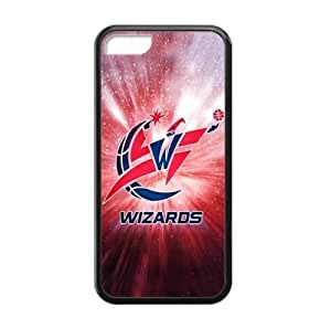 Washington Wizards Team Logo Background Design for iPhone 5C TPU Case (Laser ...