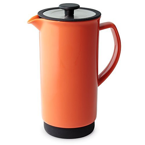forlife-cafe-style-coffee-tea-press-32-ounce-carrot